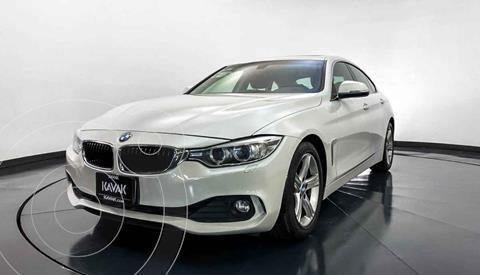 BMW Serie 4 420iA Gran Coupe Aut usado (2017) color Blanco precio $384,999