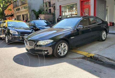 BMW Serie 5 523i Aut usado (2012) color Negro precio u$s25.900