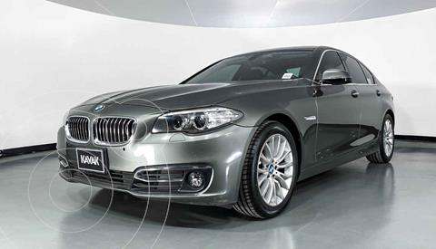 BMW Serie 5 528iA Lujo  usado (2014) color Gris precio $327,999