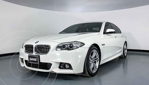 BMW Serie 5 528iA M Sport usado (2015) color Blanco precio $322,999