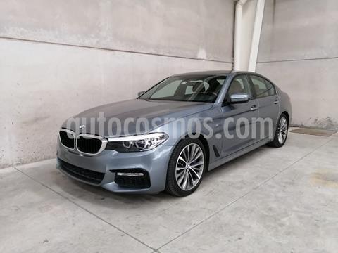 BMW Serie 5 540iA M Sport usado (2018) color Celeste precio $650,000