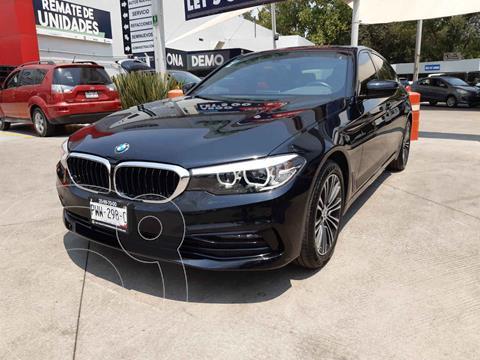 BMW Serie 5 520iA Sport Line usado (2020) color Negro precio $638,000