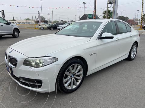 BMW Serie 5 4P 520I TOP 2.0 AUT usado (2014) color Blanco precio $255,000