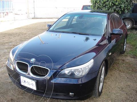 BMW Serie 5 525iA Lujo usado (2006) color Azul precio $145,000
