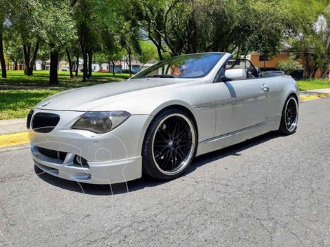 BMW Serie 6 645CiA Cabriolet usado (2005) color Plata precio $360,000
