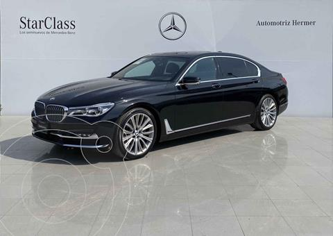 BMW Serie 7 750LiA Excellence usado (2017) color Negro precio $1,049,900