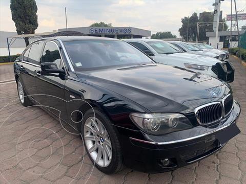 BMW Serie 7 4P 750I AUT usado (2008) color Negro precio $285,000