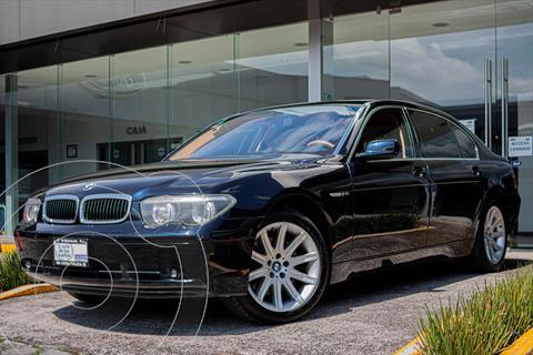 BMW Serie 7 4P 760LI INDIVIDUAL AUT usado (2004) color Azul Marino precio $275,000