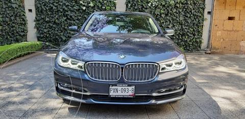 BMW Serie 7 740iA Excellence usado (2016) color Azul Imperial precio $799,000