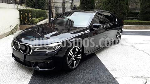 BMW Serie 7 750LiA Sport usado (2017) color Azul Toledo precio $420,000