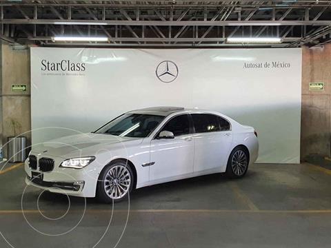 BMW Serie 7 750LiA usado (2015) color Blanco precio $769,000