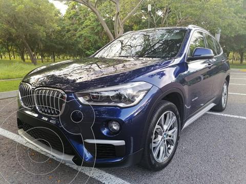 BMW X1 sDrive 20iA Sport Line usado (2016) color Azul precio $345,000