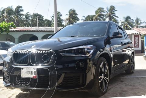 BMW X1 sDrive 20iA Sport Line usado (2017) color Negro precio $370,000