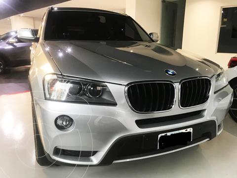 foto BMW X3 xDrive 20d Executive usado (2013) color Plata precio u$s30.000