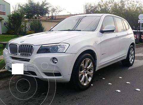 BMW X3 30iA usado (2012) color Blanco precio $14.000.000