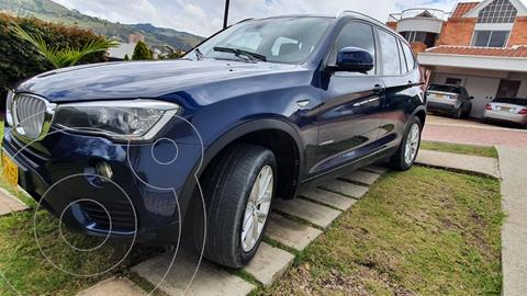 BMW X3 xDrive 28i usado (2015) color Azul Oscuro precio $88.900.000