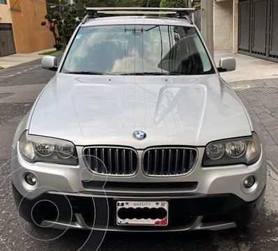 BMW X3 2.5iA Lujo usado (2008) color Plata precio $138,000