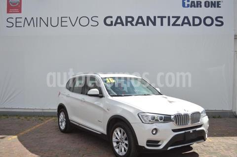 BMW X3 xDrive28iA usado (2016) color Blanco precio $424,900
