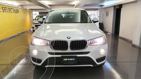 BMW X3 sDrive20iA usado (2017) color Blanco precio $399,000