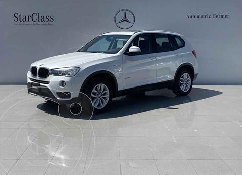 BMW X3 sDrive20i usado (2017) color Blanco precio $499,900