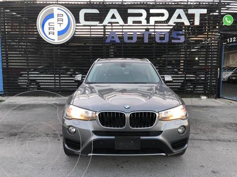 BMW X3 sDrive20iA usado (2016) color Gris Oscuro precio $319,000