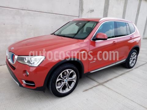 BMW X3 xDrive28iA X Line usado (2017) color Rojo Vermilion precio $510,000