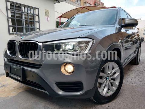 BMW X3 sDrive20iA usado (2015) color Gris precio $289,000