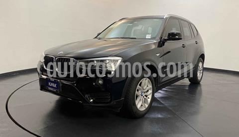 BMW X3 sDrive20i usado (2015) color Negro precio $324,999