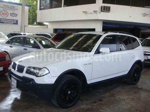 BMW X3 2.5siA Top usado (2006) color Blanco precio $130,000