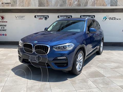 BMW X3 sDrive20iA usado (2019) color Azul Acero precio $620,000