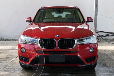 BMW X3 sDrive20iA usado (2017) color Rojo precio $400,000