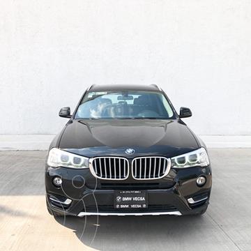 BMW X3 xDrive28iA X Line usado (2015) color Negro precio $360,000