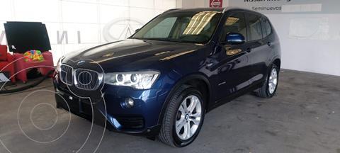 BMW X3 sDrive20iA usado (2017) color Azul precio $420,000