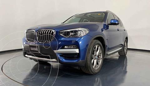 BMW X3 xDrive30iA X Line usado (2019) color Azul precio $687,999
