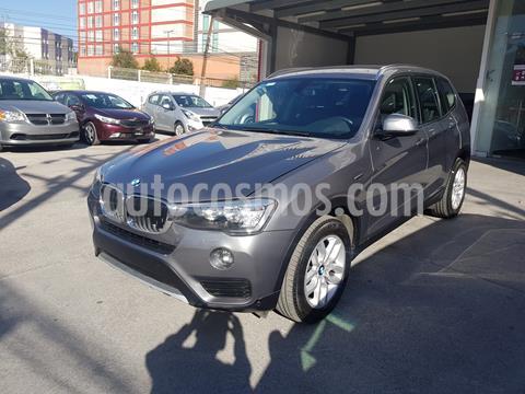 BMW X3 2.5i  usado (2017) color Plata precio $435,000
