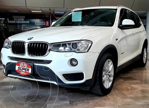 BMW X3 sDrive20iA usado (2016) color Blanco precio $429,000