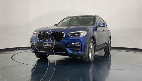 BMW X3 sDrive20iA usado (2019) color Azul precio $629,999