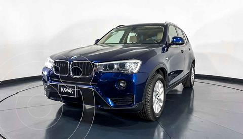 BMW X3 sDrive20i usado (2015) color Azul precio $332,999