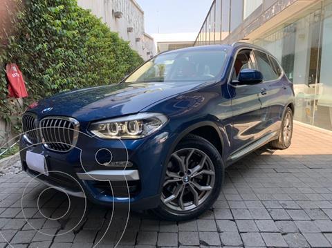 BMW X3 xDrive30iA X Line usado (2019) color Azul precio $675,000