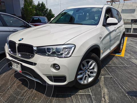 BMW X3 sDrive20iA usado (2016) color Blanco Alpine precio $375,000