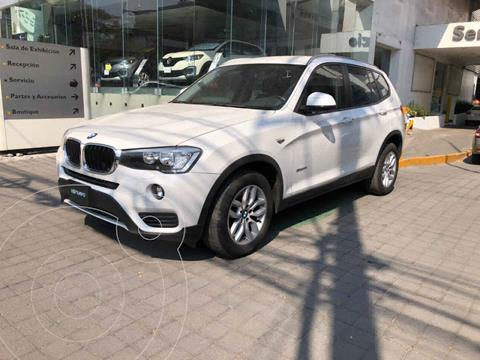 BMW X3 sDrive20iA Executive usado (2017) color Blanco precio $399,000