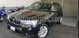 Foto venta Auto Seminuevo BMW X3 sDrive20iA (2016) color Negro precio $370,000