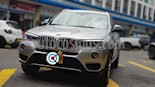 Foto venta Carro Usado BMW X3 xDrive 28i (2016) color Gris Space precio $123.000.000