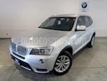 Foto venta Auto usado BMW X3 xDrive28iA Lujo  (2014) color Plata precio $349,900