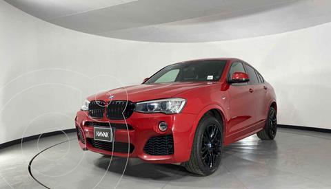 BMW X4 Version usado (2015) color Rojo precio $479,999