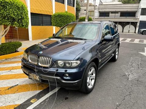 BMW X5 4.4ia Security usado (2006) color Azul precio $199,900