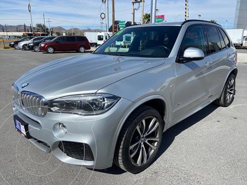 BMW X5 5P XDRIVE 50I M SPORT V8 4.4 BT AUT usado (2015) color Plata precio $499,000