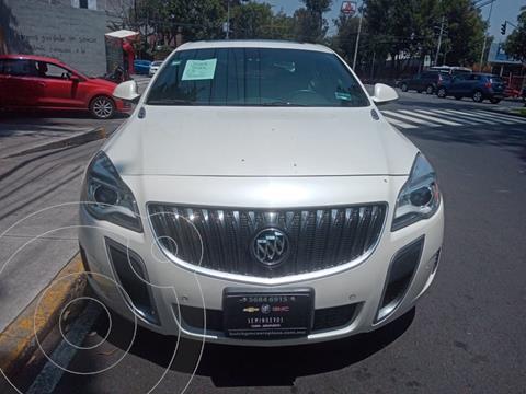 Buick Regal GS usado (2015) color Blanco financiado en mensualidades(enganche $65,000)