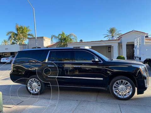 Cadillac Escalade ESV Platinum usado (2017) color Negro precio $900,000