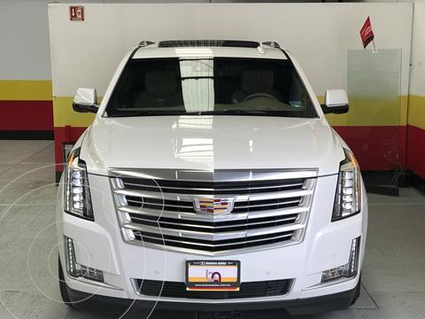 Cadillac Escalade SUV Platinum usado (2019) color Blanco Diamante precio $1,187,900